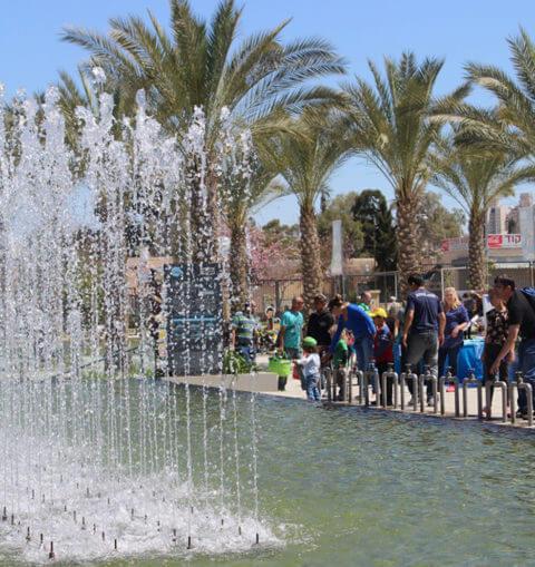 The Geometric Fountain